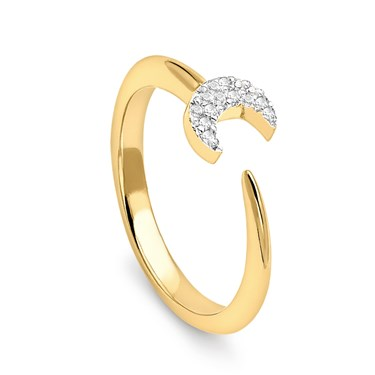 Missoma Gold Eclipse Ring  - Click to view larger image