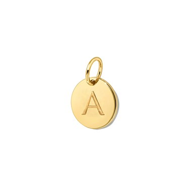 Missoma Gold Initial A Pendant  - Click to view larger image