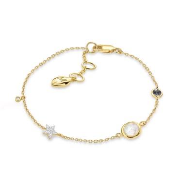 Missoma Gold Interstellar Bracelet  - Click to view larger image