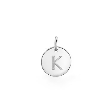 Missoma silver initial k pendant argento missoma silver initial k pendant click to view larger image aloadofball Image collections