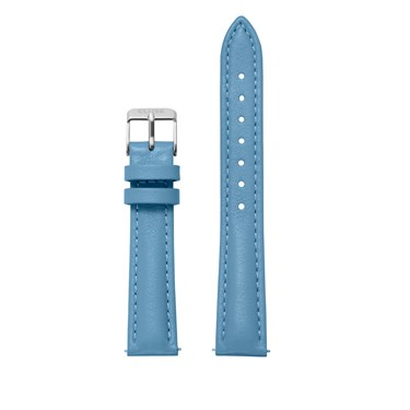 CLUSE 16mm Blue & Silver Strap  - Click to view larger image