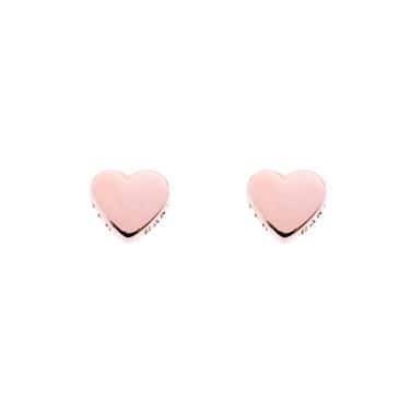 Ted Baker Harly Tiny Heart Rose Gold Stud Earrings