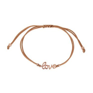 Karma Rose Gold Love Pull Bracelet  - Click to view larger image