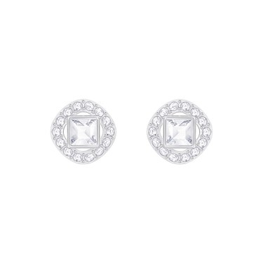 Swarovski Angelic Square Crystal Stud Earrings  - Click to view larger image