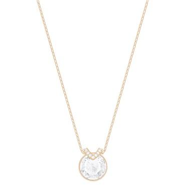 Swarovski Bella V Rose Gold Pendant  - Click to view larger image