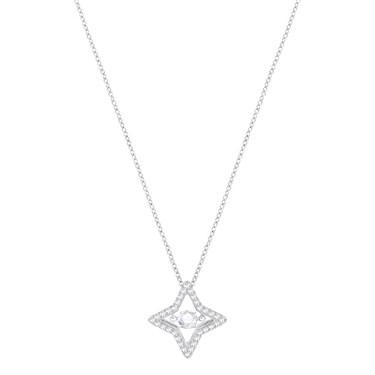 Swarovski Sparkling Dance Star Necklace  - Click to view larger image