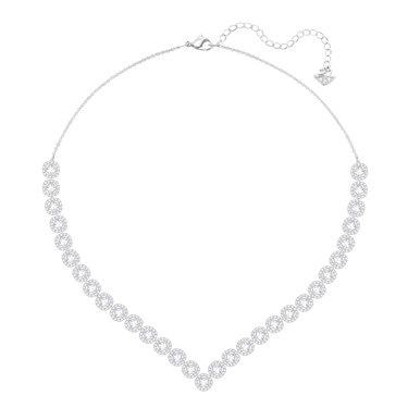 Swarovski Angelic Square Crystal Necklace  - Click to view larger image
