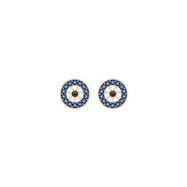 Swarovski Crystal Wishes Evil Eye Stud Earrings  - Click to view larger image