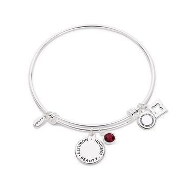 Karma July Birthstone Bangle   - Click to view larger image
