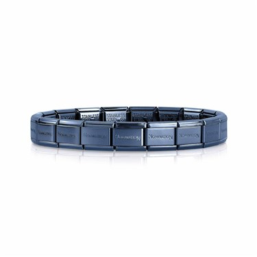 Nomination Blue Classic Composable Bracelet  - Click to view larger image