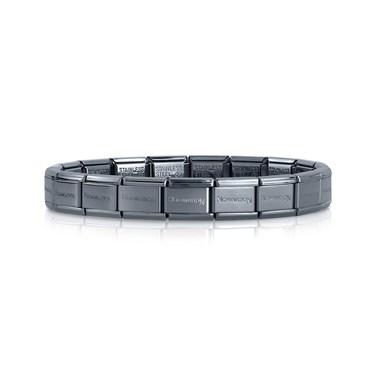 Nomination Hematite Classic Composable Bracelet  - Click to view larger image