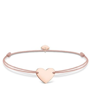 Thomas Sabo Little Secrets Rose Gold & Pink Bracelet  - Click to view larger image