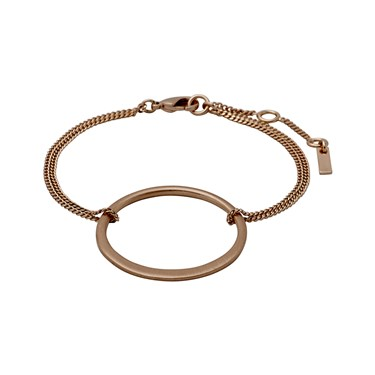 Pilgrim Iona Rose Gold Plated Bracelet  - Click to view larger image