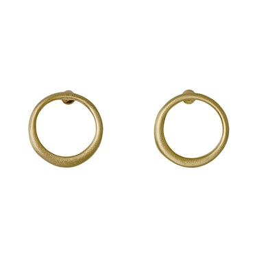 Pilgrim Iona Gold Plated Stud Earrings  - Click to view larger image
