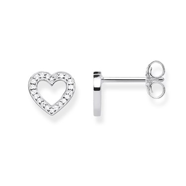 Thomas Sabo Open Heart Stud Earrings  - Click to view larger image