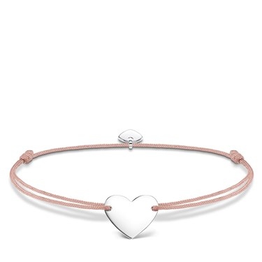 Thomas Sabo Little Secrets Heart Pink Bracelet  - Click to view larger image