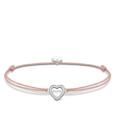 Thomas Sabo Little Secrets Open Heart Bracelet  - Click to view larger image