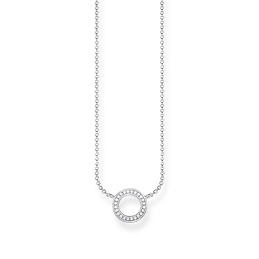 Thomas Sabo Open Circle Necklace  - Click to view larger image