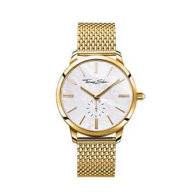 Thomas Sabo Mother of Pearl & Gold Watch  - Click to view larger image
