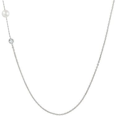 Nomination Bella Moonlight Long Pearl Necklace  - Click to view larger image