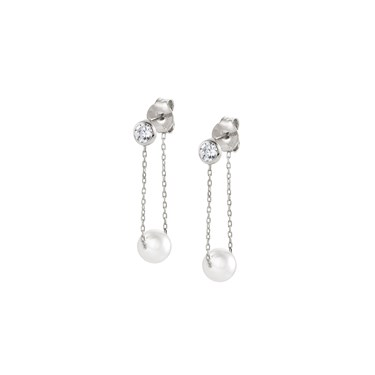 Nomination Bella Moonlight Drop Pearl Earrings  - Click to view larger image