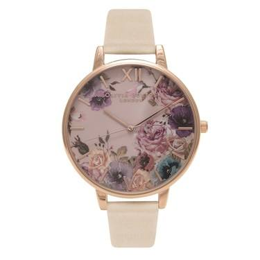 Olivia Burton Vegan Friendly Flower Nude Watch  - Click to view larger image