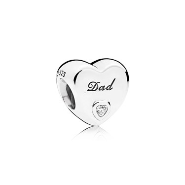 Pandora Dad's Love Charm  - Click to view larger image