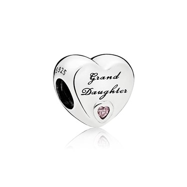 Pandora A Granddaughter's Love Charm  - Click to view larger image