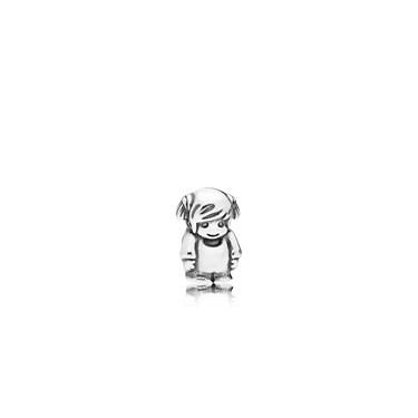 Pandora Little Girl Petite Locket Charm  - Click to view larger image