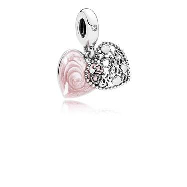 Pandora Love Makes A Family Pendant Charm  - Click to view larger image