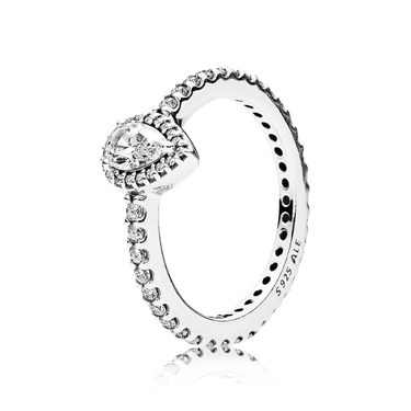 PANDORA Radiant Teardrop Ring  - Click to view larger image