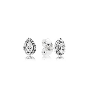Pandora Radiant Teardrops Stud Earrings  - Click to view larger image