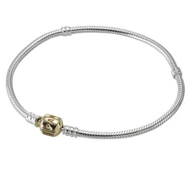 PANDORA 14ct Clasp Bracelet   - Click to view larger image