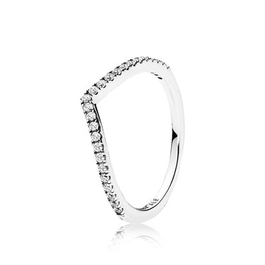 Pandora Sparkling Wish Ring  - Click to view larger image