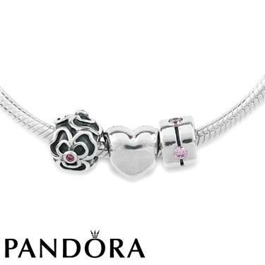 Pandora Pink Friends Necklace