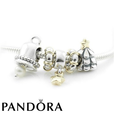 Pandora Bells Are Ringing Necklace