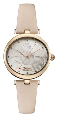 Vivienne Westwood Belgravia Pink and Rose Gold Watch   - Click to view larger image