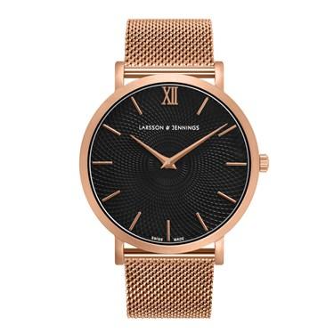 Larsson & Jennings  Lugano Sloane Milanese 40mm Watch  - Click to view larger image