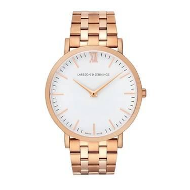 Larsson & Jennings  Lugano Vasa 40mm Rose Gold Watch  - Click to view larger image