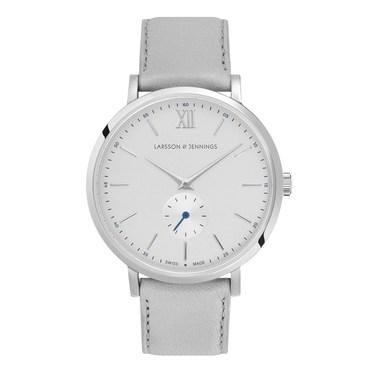 Larsson & Jennings  Lugano Jura 38mm Grey & Silver Watch  - Click to view larger image