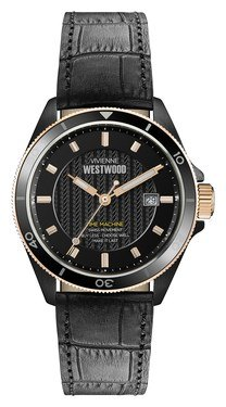 Vivienne Westwood Spitalfields Black Mens  - Click to view larger image