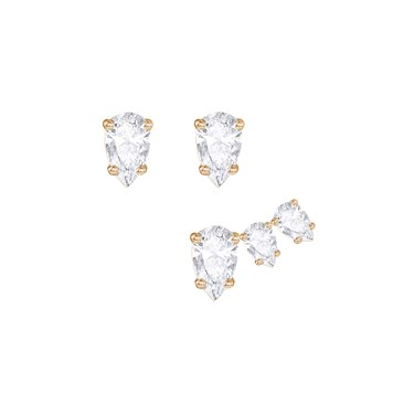 Swarovski Rose Gold Attract Earrings   - Click to view larger image