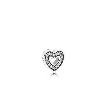Pandora Heart Petite Element  - Click to view larger image