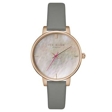 Ted Baker Kate Rose Gold & Grey Watch  - Click to view larger image