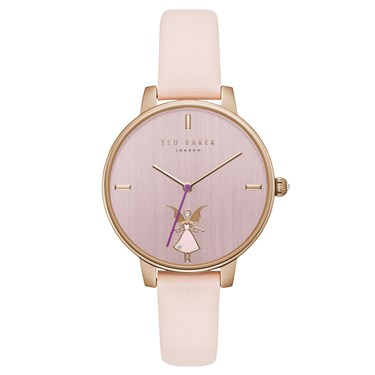Ted Baker Ladies Kate Rose Gold Pink Fairy Watch  - Click to view larger image