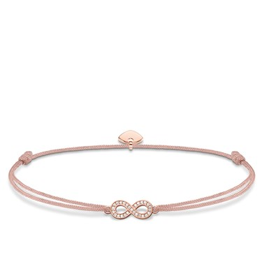 Thomas Sabo Little Secrets Pink Infinity Bracelet  - Click to view larger image