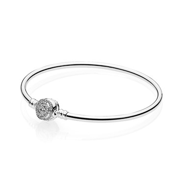 Pandora Disney Beauty & The Beast Bangle  - Click to view larger image