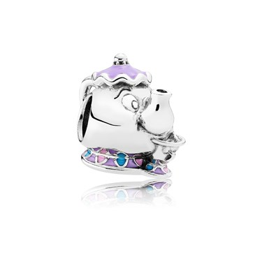 PANDORA Disney Mrs. Potts & Chip Charm  - Click to view larger image