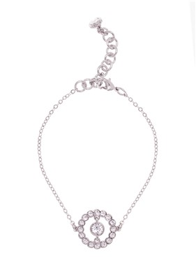 Ted Baker Colesse Concentric Crystal Bracelet  - Click to view larger image