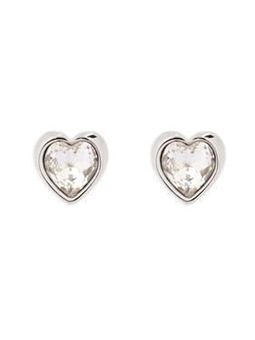 Ted Baker Han Crystal Heart Earrings  - Click to view larger image